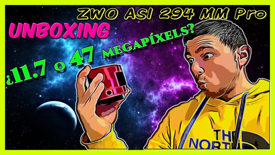 Cámara ASI 294MM Pro |Unboxing