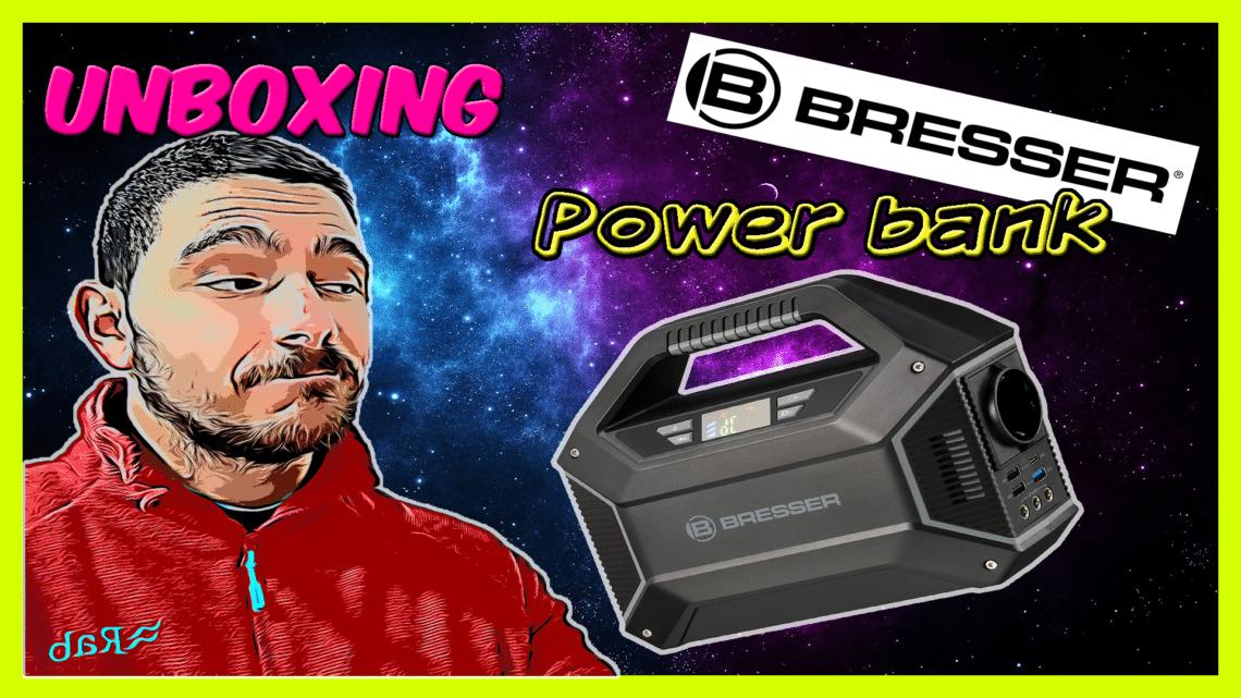 Bresser Power Bank 100W |Unboxing