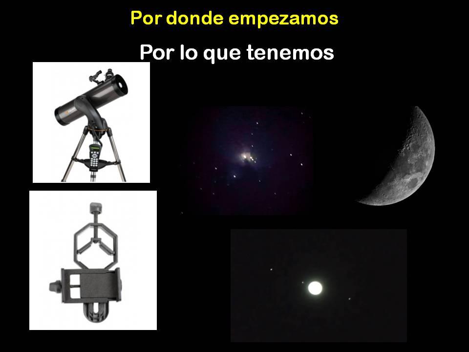 astrofotografía smartphone