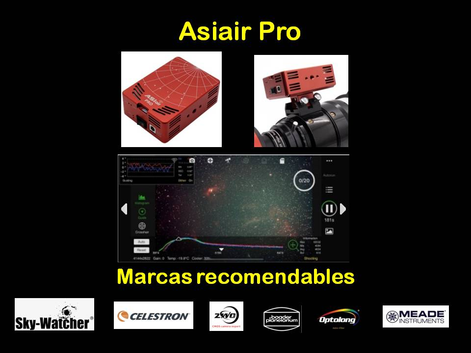 asiair pro astrofotografía