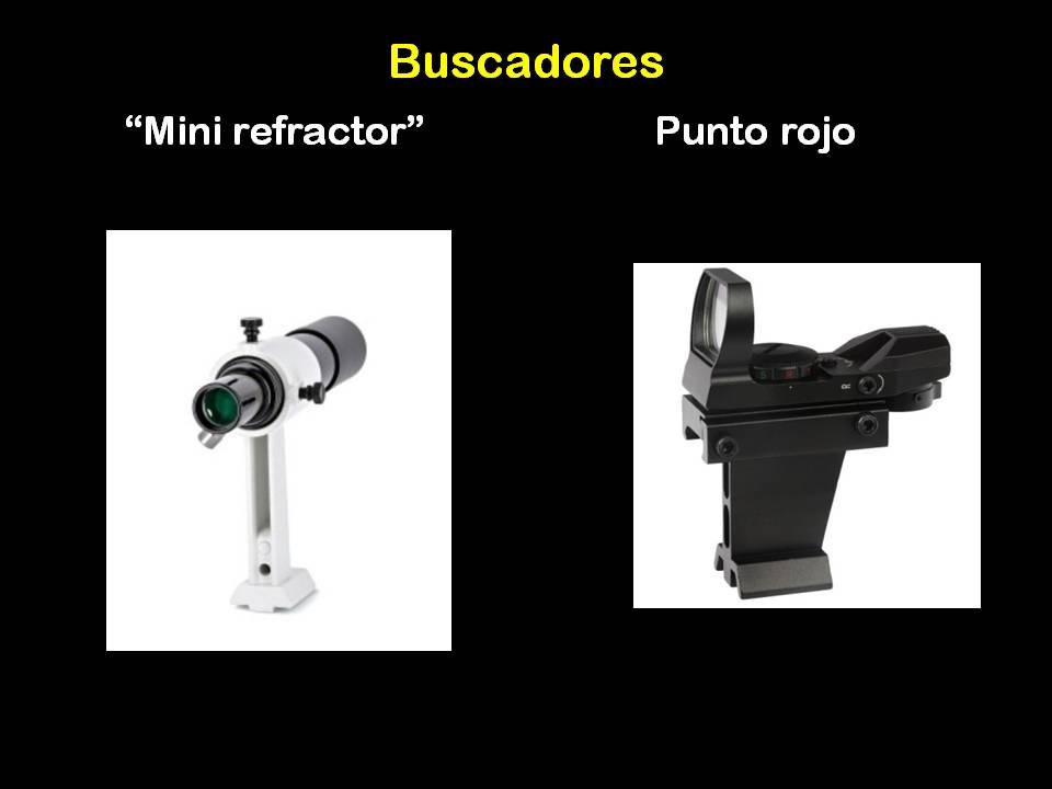 buscador telescopio