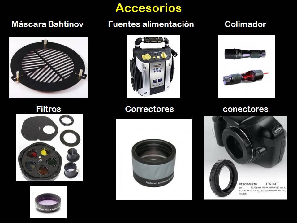 accesorios telescopio
