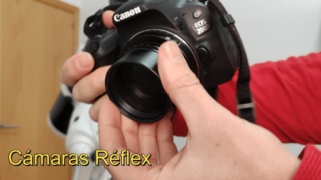 Astrofotografía con cámara réflex