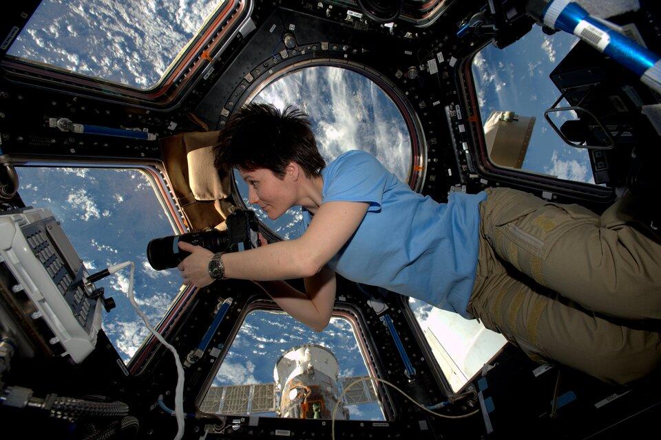astronauta de la ESA