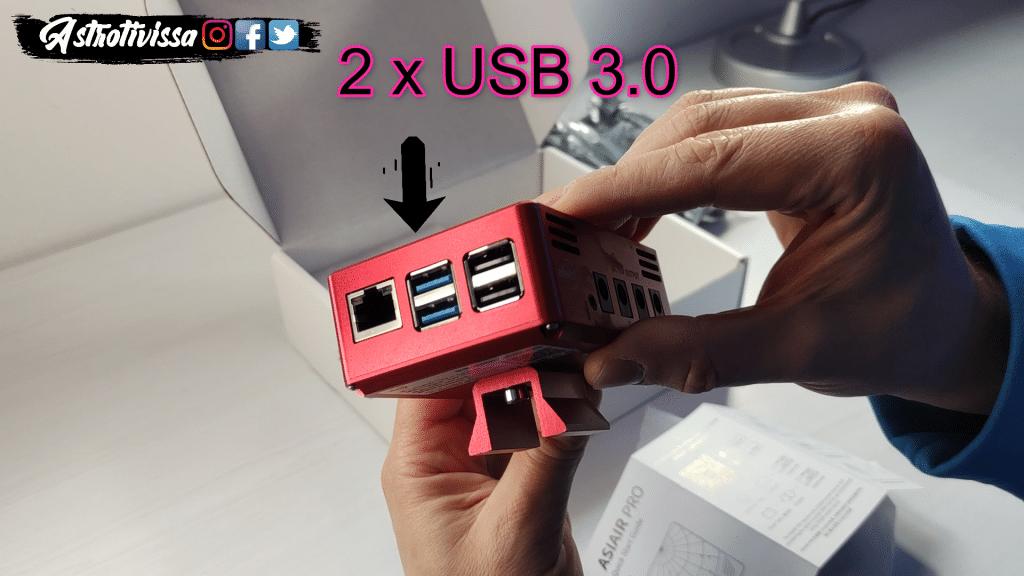 Asiair pro conexiones USB