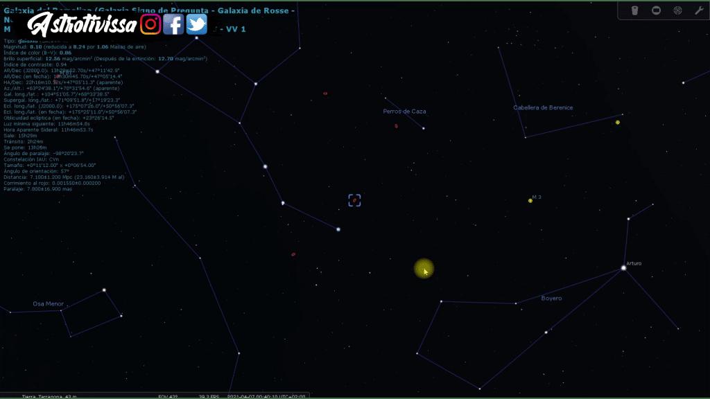 Galaxia del Remolino M51