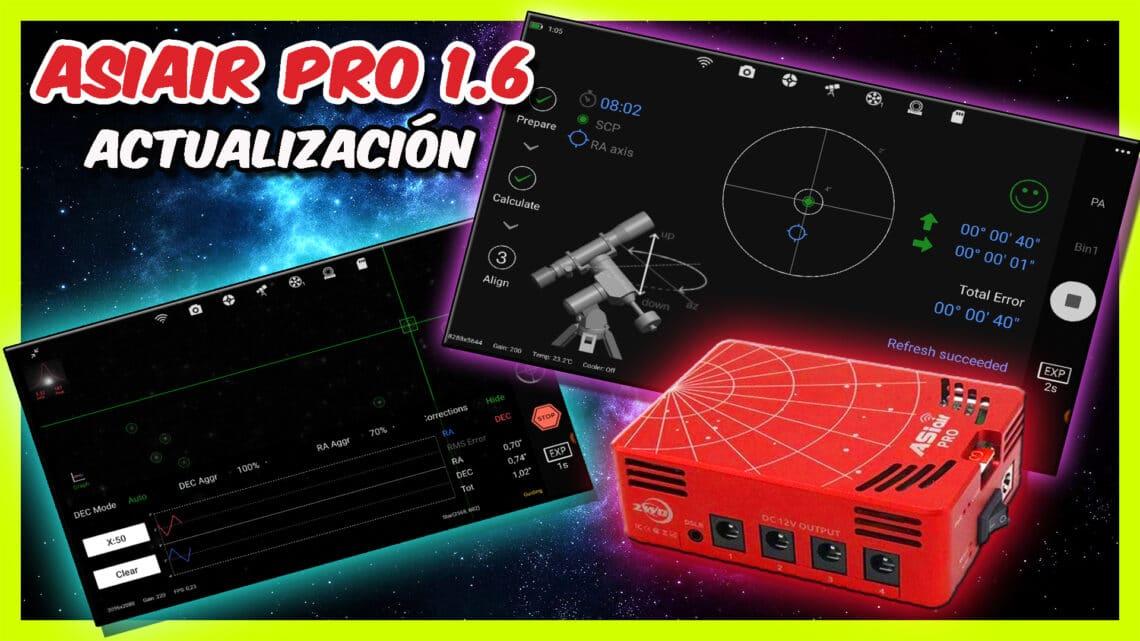 Actualización Asiair Pro 1.6