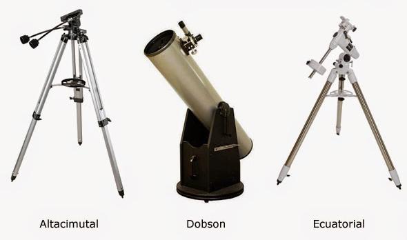 monturas telescopio